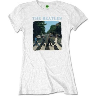 THE BEATLES Abbey Road & Logo 7, Tシャツ