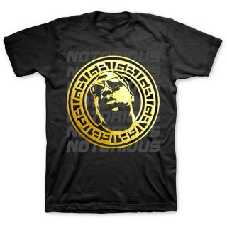 THE NOTORIOUS B.I.G. Gold Circle, Tシャツ