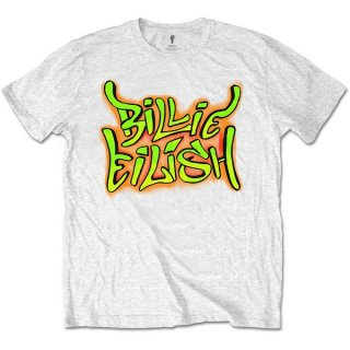 BILLIE EILISH Graffiti, Tシャツ