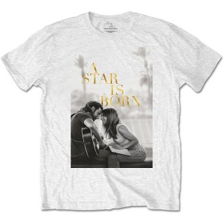 A STAR IS BORN Jack & Ally Movie Poster Wht, Tシャツ