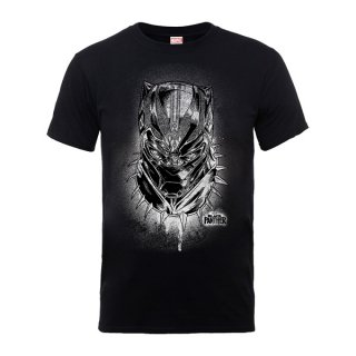 BLACK PANTHER Spray Headshot, Tシャツ