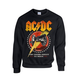 AC/DC For Those About To Rock New, スウェットシャツ