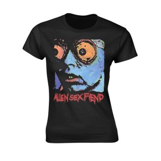ALIEN SEX FIEND Acid Bath, レディースTシャツ