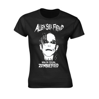 ALIEN SEX FIEND Zombiefied, レディースTシャツ