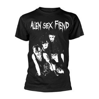 ALIEN SEX FIEND Band Photo, Tシャツ