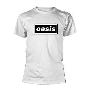 OASIS Decca Logo Wht, Tシャツ