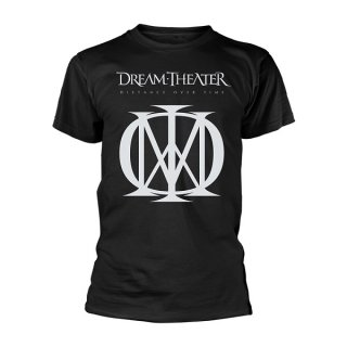 DREAM THEATER Distance Over Time Cover Blk, Tシャツ