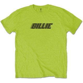 BILLIE EILISH Racer Logo & Blohsh Lime Green, Tシャツ