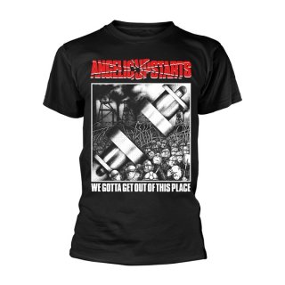 ANGELIC UPSTARTS We Gotta Get Out Of This Place, Tシャツ