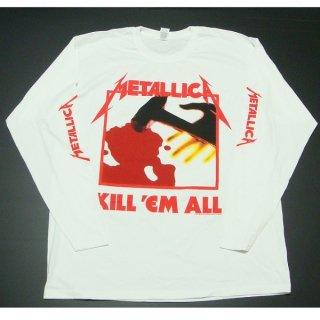 METALLICA Kill Em All Wht, ロングTシャツ