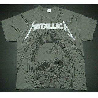 METALLICA Spider A/O Charcoal, Tシャツ