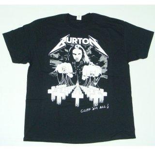 METALLICA Cliff Burton Cliff Em All, Tシャツ