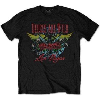 AEROSMITH Deuces Are Wild, Vegas, Tシャツ