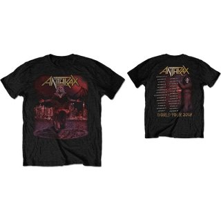 ANTHRAX Bloody Eagle World Tour 2018, Tシャツ