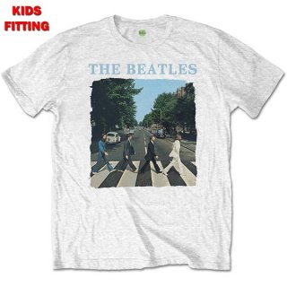 THE BEATLES Abbey Road & Logo, 子供用Tシャツ