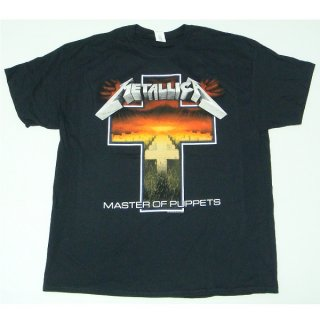 METALLICA Master Of Puppets Cross, Tシャツ