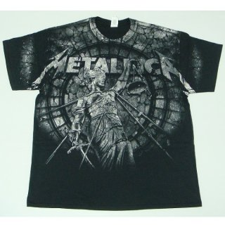 METALLICA Stoned Justice All-Over, Tシャツ