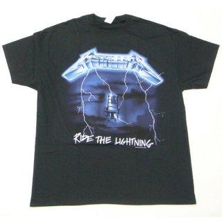 METALLICA Ride The Lightning Tracks, Tシャツ