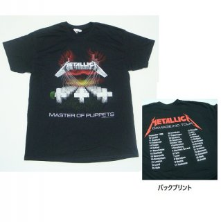 METALLICA Mop European Tour 86', Tシャツ