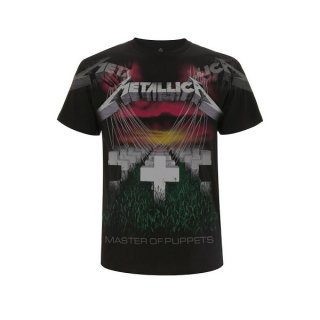 METALLICA Puppets Faded Black, Tシャツ