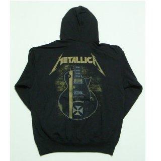 METALLICA Hetfield Iron Cross Black, パーカー