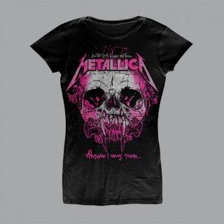 METALLICA Wherever I May Roam Black, レディースTシャツ