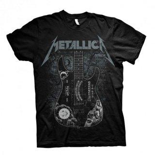 METALLICA Hammett Ouija Guitar Black, Tシャツ