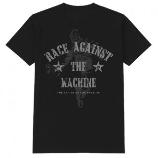 RAGE AGAINST THE MACHINE Battle Black, Tシャツ