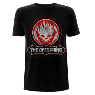 THE OFFSPRING Distressed Skull, Tシャツ