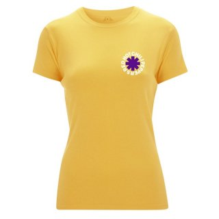 RED HOT CHILI PEPPERS Los Chili Yellow, レディースTシャツ