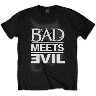 BAD MEETS EVIL Logo, Tシャツ<img class='new_mark_img2' src='https://img.shop-pro.jp/img/new/icons5.gif' style='border:none;display:inline;margin:0px;padding:0px;width:auto;' />