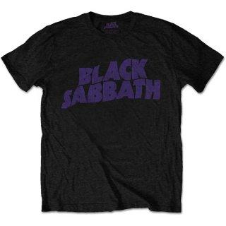 BLACK SABBATH Wavy Logo Vintage, Tシャツ<img class='new_mark_img2' src='https://img.shop-pro.jp/img/new/icons5.gif' style='border:none;display:inline;margin:0px;padding:0px;width:auto;' />