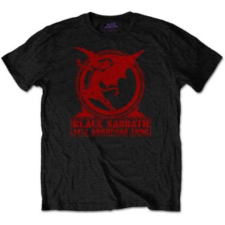 BLACK SABBATH Europe '75, Tシャツ<img class='new_mark_img2' src='https://img.shop-pro.jp/img/new/icons5.gif' style='border:none;display:inline;margin:0px;padding:0px;width:auto;' />