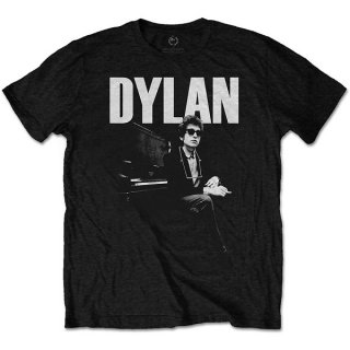 BOB DYLAN At Piano, Tシャツ<img class='new_mark_img2' src='https://img.shop-pro.jp/img/new/icons5.gif' style='border:none;display:inline;margin:0px;padding:0px;width:auto;' />