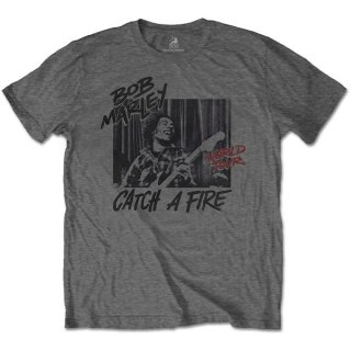BOB MARLEY Catch A Fire World Tour, Tシャツ<img class='new_mark_img2' src='https://img.shop-pro.jp/img/new/icons5.gif' style='border:none;display:inline;margin:0px;padding:0px;width:auto;' />