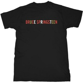 BRUCE SPRINGSTEEN Logo, Tシャツ<img class='new_mark_img2' src='https://img.shop-pro.jp/img/new/icons5.gif' style='border:none;display:inline;margin:0px;padding:0px;width:auto;' />