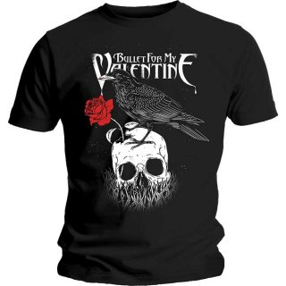 BULLET FOR MY VALENTINE Raven, Tシャツ<img class='new_mark_img2' src='https://img.shop-pro.jp/img/new/icons5.gif' style='border:none;display:inline;margin:0px;padding:0px;width:auto;' />