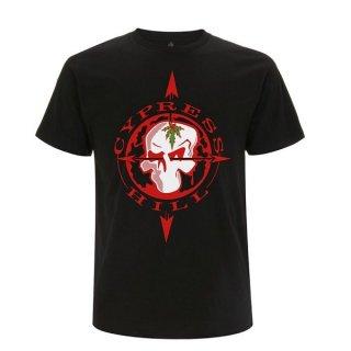 CYPRESS HILL Skull Compass, Tシャツ