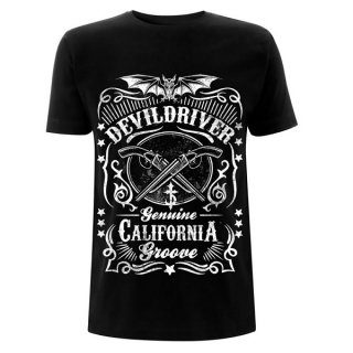 DEVILDRIVER Sawed Off Black, Tシャツ
