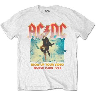 AC/DC Blow Up Your Video Wht, Tシャツ<img class='new_mark_img2' src='https://img.shop-pro.jp/img/new/icons5.gif' style='border:none;display:inline;margin:0px;padding:0px;width:auto;' />