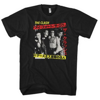 THE CLASH Kanji, Tシャツ<img class='new_mark_img2' src='https://img.shop-pro.jp/img/new/icons5.gif' style='border:none;display:inline;margin:0px;padding:0px;width:auto;' />