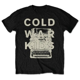COLD WAR KIDS Typewriter, Tシャツ<img class='new_mark_img2' src='https://img.shop-pro.jp/img/new/icons5.gif' style='border:none;display:inline;margin:0px;padding:0px;width:auto;' />