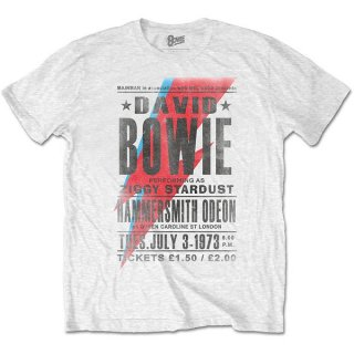 DAVID BOWIE Hammersmith Odeon, Tシャツ<img class='new_mark_img2' src='https://img.shop-pro.jp/img/new/icons5.gif' style='border:none;display:inline;margin:0px;padding:0px;width:auto;' />