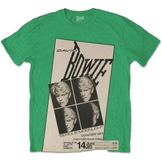 DAVID BOWIE Concert '83, Tシャツ<img class='new_mark_img2' src='https://img.shop-pro.jp/img/new/icons5.gif' style='border:none;display:inline;margin:0px;padding:0px;width:auto;' />