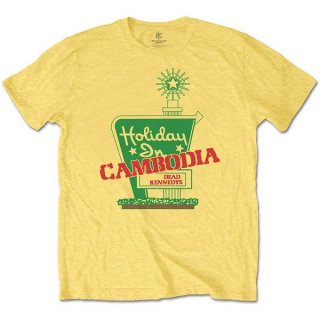 DEAD KENNEDYS Holiday in Cambodia Yel, Tシャツ<img class='new_mark_img2' src='https://img.shop-pro.jp/img/new/icons5.gif' style='border:none;display:inline;margin:0px;padding:0px;width:auto;' />