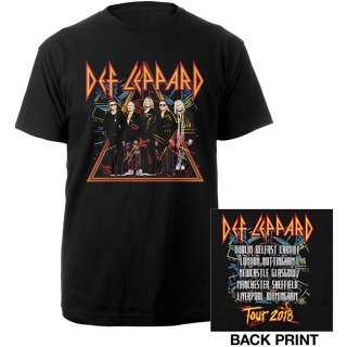 DEF LEPPARD 2018 Tour Photo, Tシャツ<img class='new_mark_img2' src='https://img.shop-pro.jp/img/new/icons5.gif' style='border:none;display:inline;margin:0px;padding:0px;width:auto;' />