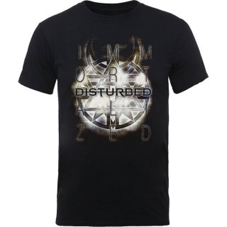 DISTURBED Symbol, Tシャツ<img class='new_mark_img2' src='https://img.shop-pro.jp/img/new/icons5.gif' style='border:none;display:inline;margin:0px;padding:0px;width:auto;' />
