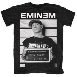 EMINEM Arrest, Tシャツ<img class='new_mark_img2' src='https://img.shop-pro.jp/img/new/icons5.gif' style='border:none;display:inline;margin:0px;padding:0px;width:auto;' />