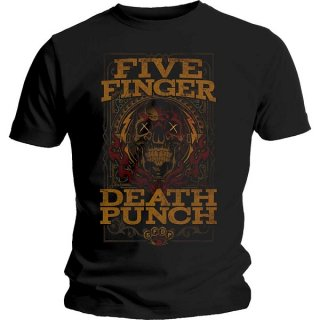 FIVE FINGER DEATH PUNCH Wanted, Tシャツ<img class='new_mark_img2' src='https://img.shop-pro.jp/img/new/icons5.gif' style='border:none;display:inline;margin:0px;padding:0px;width:auto;' />