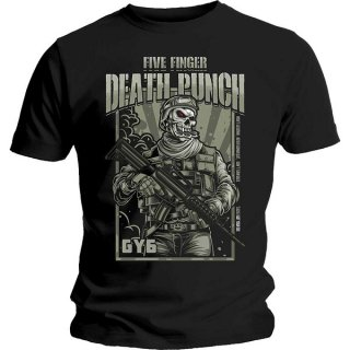 FIVE FINGER DEATH PUNCH War Soldier, Tシャツ<img class='new_mark_img2' src='https://img.shop-pro.jp/img/new/icons5.gif' style='border:none;display:inline;margin:0px;padding:0px;width:auto;' />